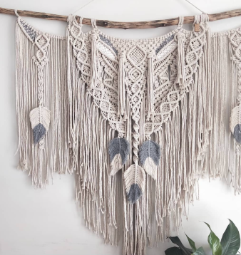 Macrame by The Knot and Tile.